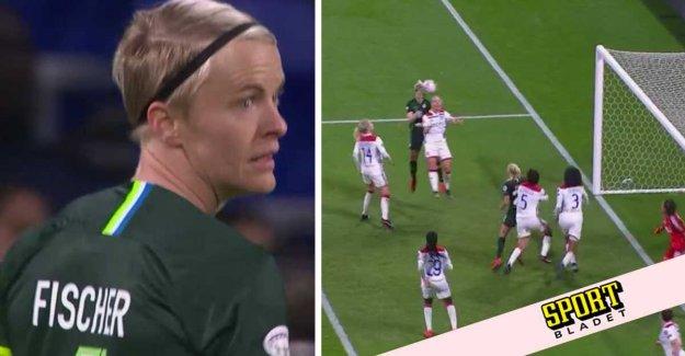 Wolfsburg's CL hopes alive after Fischer's goal