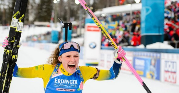 World CUP-gold for Hanna Öberg: Wanted to show that I am the olympic champion