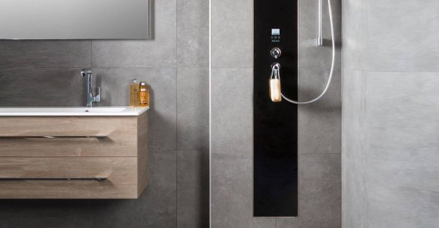World water day: this shower uses up to 80% less