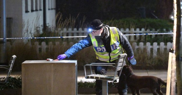 Young man wounded by a gun shot in Landskrona