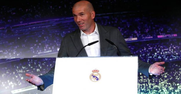 Zidane on the sensational comeback: - I could not say no