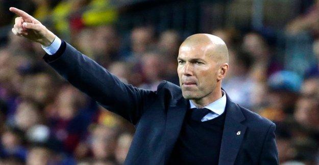 Zinedine Zidane is back in Real Madrid