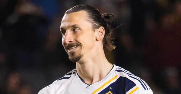 Zlatan is back after his injury