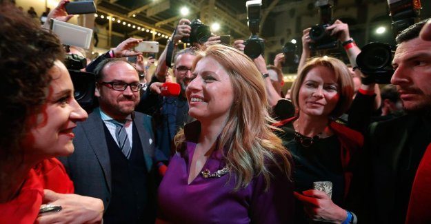 Zuzana Caputová become Slovakia's first female president