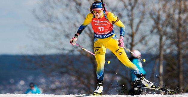 Öberg third behind superior Kuzmina