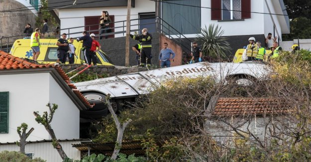 29 dead after bus driven off the road in Madeira
