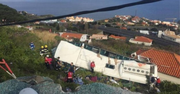 29 killed in accident with tourist bus in Madeira
