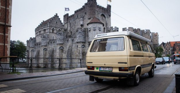 345 euros to the year old diesel in Ghent to be allowed to drive