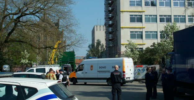 3.500 students evacuated due to suspicious package in Ghent: it turns out to be empty suitcase to go