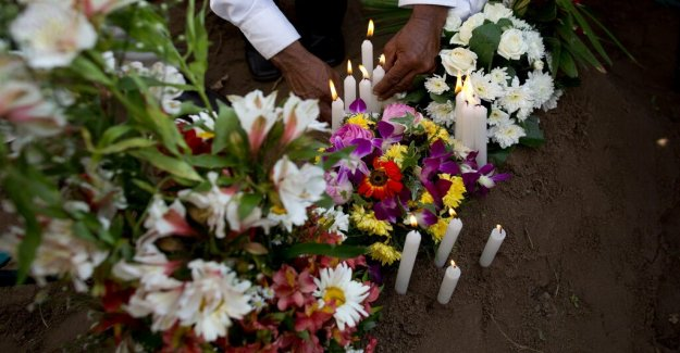 45 of the victims were children – the number likely to rise