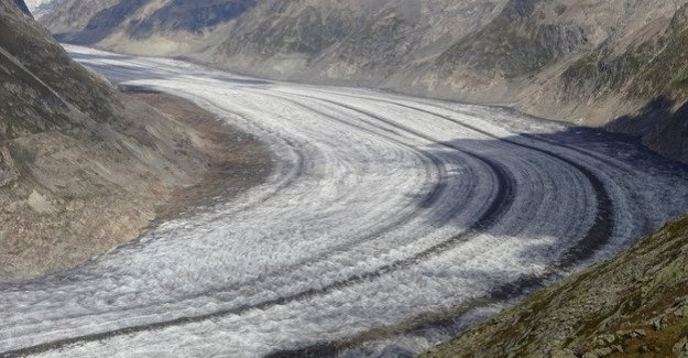 A dramatic consequence of climate change : Alpine glaciers could be 2100 largely melted away