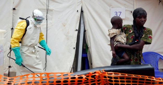 A hundred dead in three weeks time by ebola in Congo