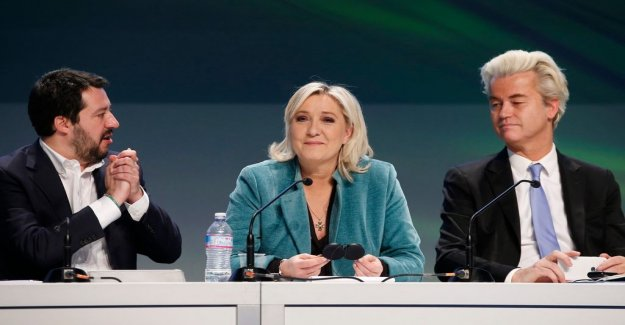 A nationalistic wave draws on the EUROPEAN parliament's playing field
