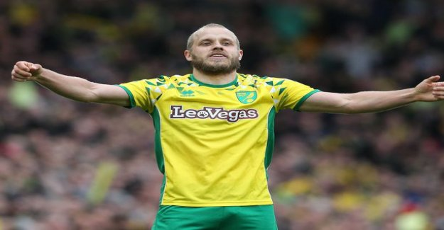 A stunning tribute to: Teemu Pukki was selected the championship's player of the Year!