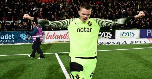 AIK:s stjärnmålvakt dream of the national team and the new SM-gold