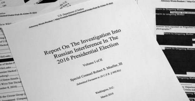 According to the Mueller Report: a Lot of ammunition, to investigate further