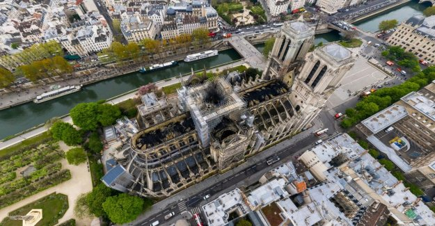 After the fire – see the Notre-Dame cathedral in 360-degrees