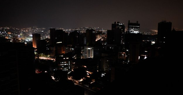 Again power failure in large part of Venezuela