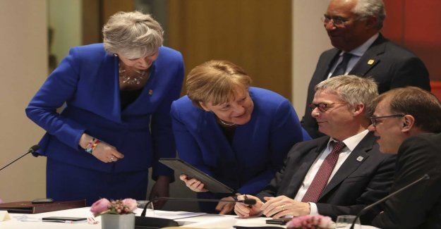 Agreement on the brexitförlängning reached