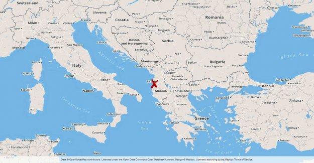 Albania put into the army after flygplatsrån