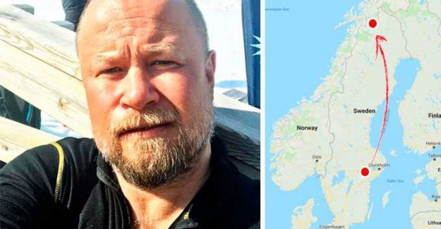 Anders, 52, moved 127 miles in order to avoid pollen – it didn't help