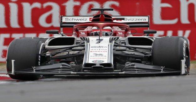 Antonio giovinazzo to hard punishment Baku - Kim Räikkönenkin is already equivalent to the sentence on the verge of