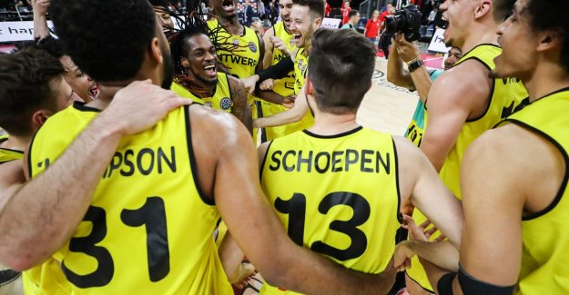 Antwerp Giants pick up final battle of Champions League basketball to Arena: This is an honour