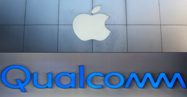 Apple and Qualcomm in the year-long patent dispute