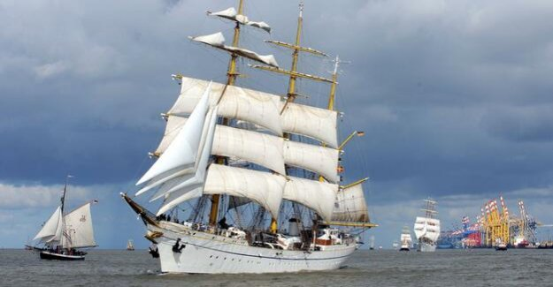 Armed to the sail training ship : want to Söder Gorch Fock to the Museum
