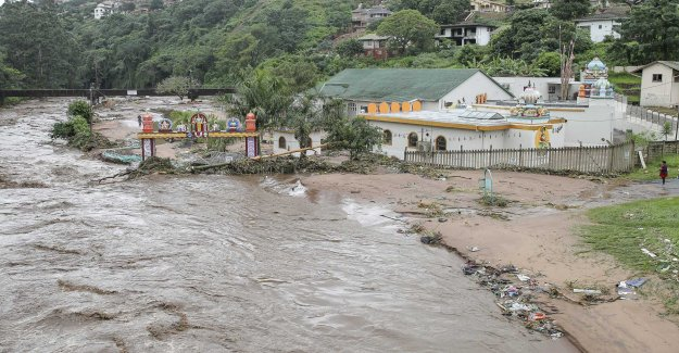 Around 70 dead in storms in south Africa