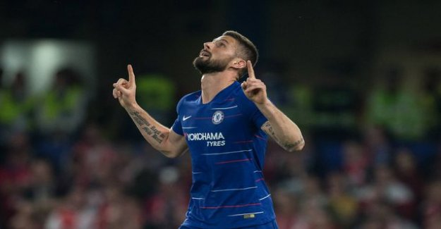 Arsenal and Chelsea in the semifinals - täyslontoolainen finals still possible in the European league