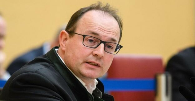 At the core of xenophobic and extremist : the AfD group's chief in Bavaria, throw