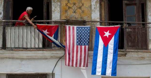 At the end of the policy of détente: U.S. pressure on Cuba tightened