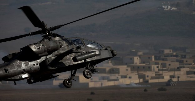 Attack helicopters sent to Estonia to deter Russia