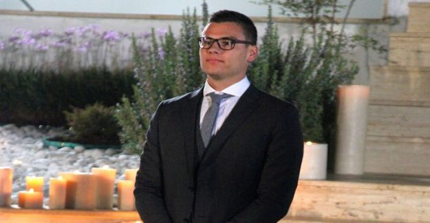 Bachelor-Christoffer, today, give your first kiss: Exceeded all expectations