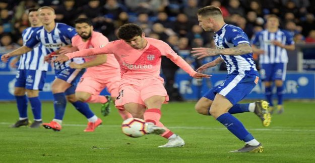Barcelona clinches victory without Messiäkin – bred finishing nicely
