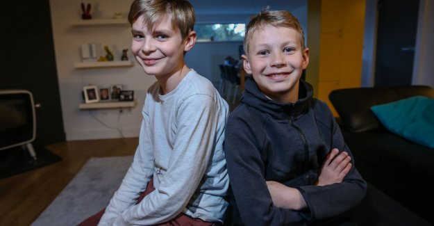 Bass (12) and Pim (10) have such a rare syndrome that government, nothing to pay back They think that our sons are healthy. That hurts so much