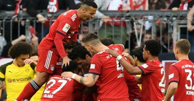 Bavaria's lesson for Dortmund : The Bundesliga has come to an end