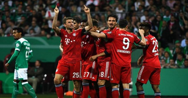 Bayern book cup final against Poulsen and co.
