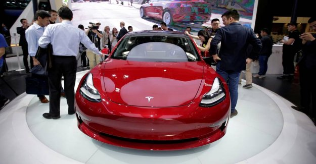 Beats several records: Here stood the electric cars for 6 out 10 slutsedler