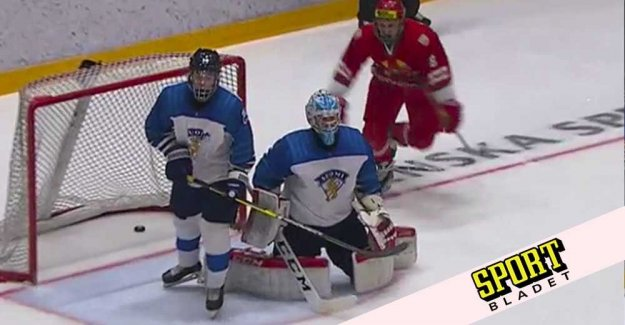 Belarus took the historic victory against Finland