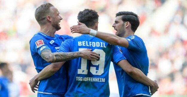Belfodil hits triple : Hoffenheim celebrates runaway victory in Augsburg