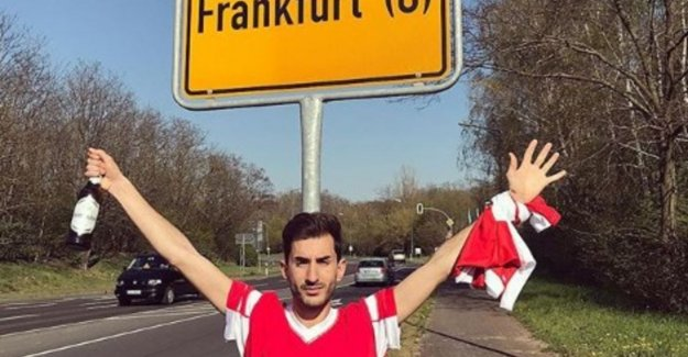 Benfica fans travelling to the wrong Frankfurt: Estamos f*cked