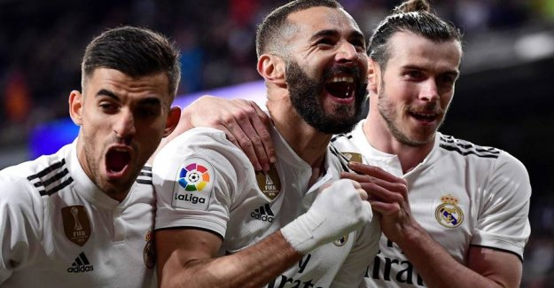 Benzema surpassing Messi and Ronaldo with record