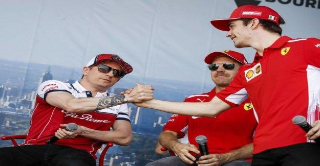 Bernie Ecclestone shoots a hard text: Ferrari made a mistake to give up when Kim räikköseen to