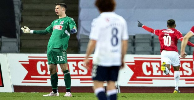 Big keeper-coke: AGF rescued at the last moment