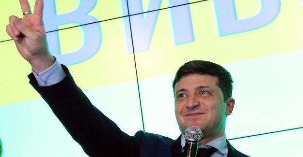 Biggest winner of Ukrainian presidential elections is an actor