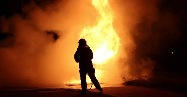 Bilbrande wreaked havoc: the Fire brigade was fired upon with fireworks