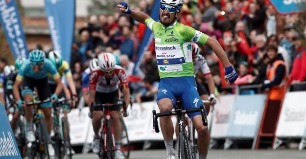 Bjorg Lambrecht should only Julian Alaphilippe voorlaten in the Basque country