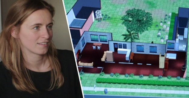 'Blind Bought'-candidate builds her house virtual after in 'The Sims'
